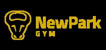 NewPark Gym - logotyp - sirkovy na svetly podklad-pruhl